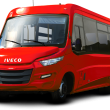 bus Iveco_red
